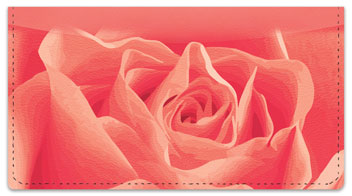 Rosebud Checkbook Cover