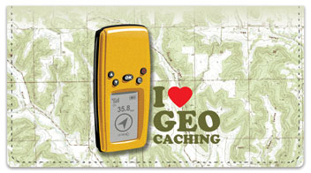 Geocaching Checkbook Cover