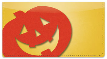 Happy Halloween Checkbook Cover