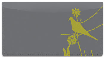 Turtle Dove Checkbook Cover