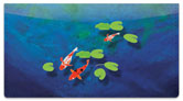 Koi Fish Checkbook Cover