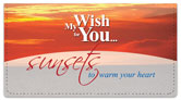 Wish for You Checkbook Cover