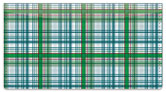 Plaid Pattern Checkbook Cover