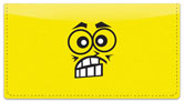 Funny Face Checkbook Cover