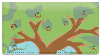 Apple Tree Art Checkbook Cover