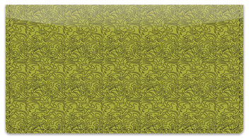 Green Topographic Checkbook Cover