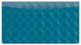 Blue Bubble Pattern Checkbook Cover