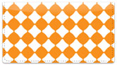 Orange Bead Checkbook Cover
