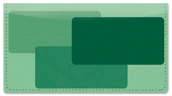Rectangle Checkbook Cover