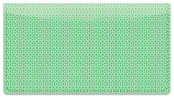 Green Box Scroll Checkbook Cover