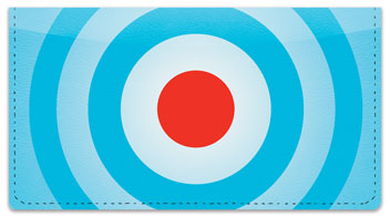 Bullseye Checkbook Cover