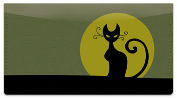 Kitty Noir Checkbook Cover