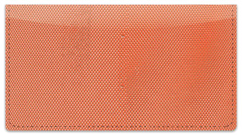 Orange Mesh Checkbook Cover