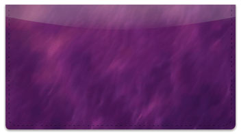 Purple Light Wave Checkbook Cover