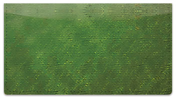Green Burlap Checkbook Cover
