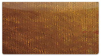 Brown Burlap Checkbook Cover