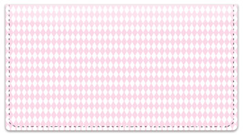 Pink Diamond Checkbook Cover