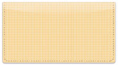 Peach Dot Checkbook Cover