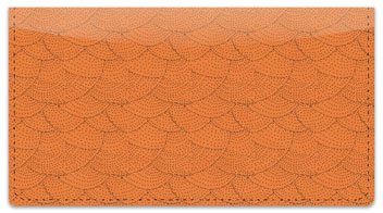 Stipple Checkbook Cover