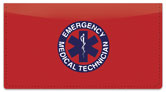 EMT Checkbook Cover