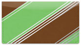 Candy Stripe Checkbook Cover