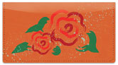 Double Blossom Checkbook Cover