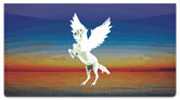 Pegasus Checkbook Cover