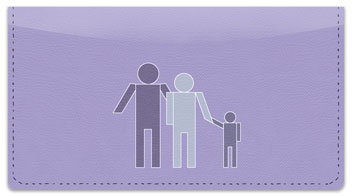People Person Checkbook Cover