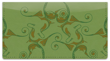 Enigma Checkbook Cover