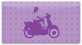 Scooter Girl Checkbook Cover
