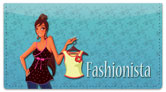 Fabulous Fashionista Checkbook Cover
