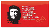 Che Guevara Checkbook Cover