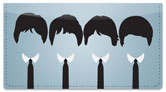 Mop Top Checkbook Cover