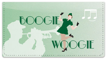 Swing Dancing Checkbook Cover
