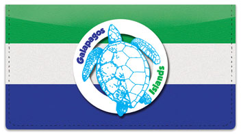 Galapagos Islands Checkbook Cover