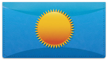Weather Icon Checkbook Cover
