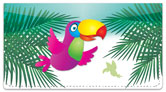 Totally Toucan Checkbook Cover
