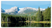 Scenic Mountain Checkbook Cover