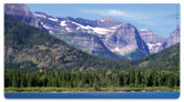 Rocky Mountains Checkbook Cover
