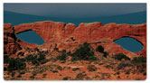 Natural Arch Checkbook Cover