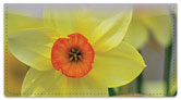 Golden Daffodil Checkbook Cover