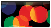 Colorful Light Checkbook Cover