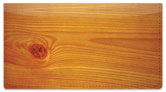 Wood Grain Checkbook Cover