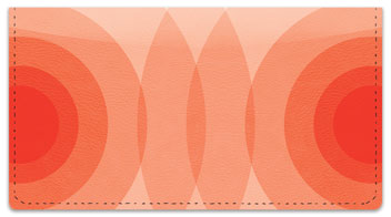 Orange Networker Checkbook Cover