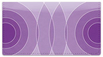 Purple Networker Checkbook Cover