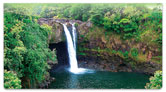 Waterfalls in Paradise Checkbook Cover