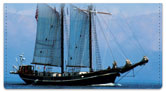 Tall Ship Checkbook Cover