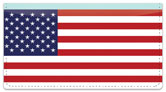 US Flag Checkbook Cover