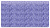Purple Linen Checkbook Cover