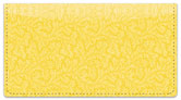 Yellow Leaves Checkbook Cover